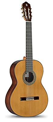 Alhambra 6 String 5P-US Classical Conservatory Guitar, Right Handed, Solid Canadian Cedar