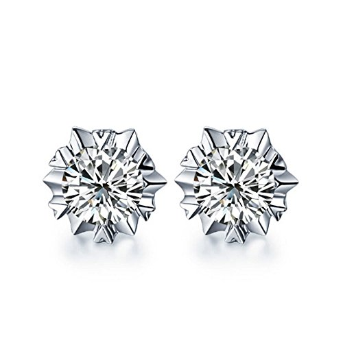 the-november-nocturne-aaa-zirconia-snowflake-silver-plated-fashion-women-stud-earring