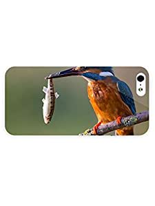 3d Full Wrap Case for iPhone 5/5s Animal Kingfisher11
