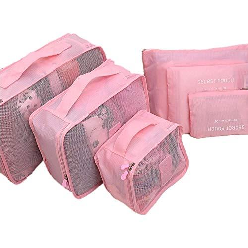 COMLIFE Bolsas de Viaje Portable para Maleta de Nylon y Malla Almacenamiento Ropa,Tableta, Batería Externa, Disco Duro, USB...