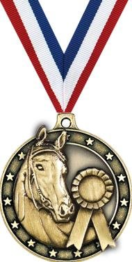 Crown Awards Horse Medals - 2