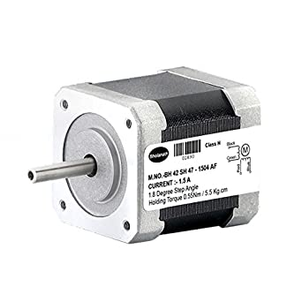 Bholanath Stepper Motor 5 5 kg cm BIPOLAR STEPPER MOTOR (1 5 Amp Motor)  Fitted With Connector (Best Suited for 3 D Printers)