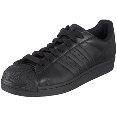 adidas Originals Men's Superstar ll Sneaker,Black/Black/Black,8.5 M US