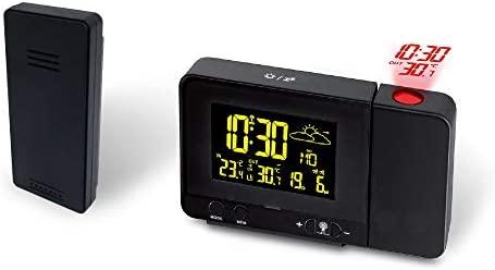Radio Despertador Digital Proyector, Dobles Alarmas, Puerto ...