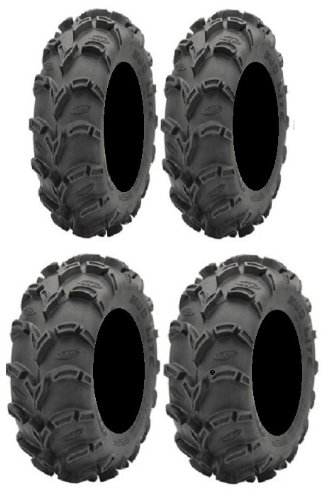 Full set of ITP Mud Lite XL 26x9-12 and 26x12-12 ATV Tires (4)
