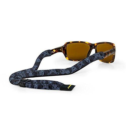 4de1bdaa5939 Croakies (CROCY Suiters Sport Eyewear Retainer Petroglyph Blue