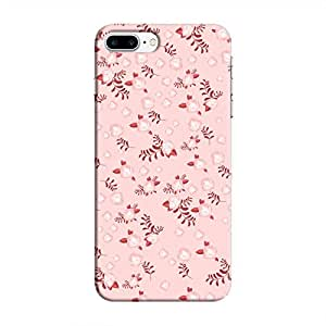 Cover It Up - Pink Flower Light Pink Paper Apple iPhone 7 Plus Hard Case