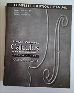 Calculus: early transcendentals 007, james stewart amazon. Com.