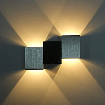 Etime 6w Led Wandleuchte Up Down Effektlampe Innen Wandlampe