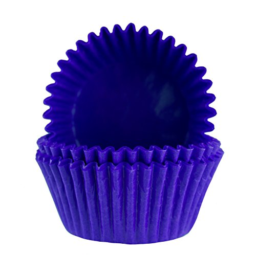 Royal Blue Cupcake Liners (Glassine Baking Cups. Cupcake Liners, Standard Size, Pack of 50 (Royal)