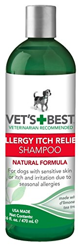 Vet's Best Allergy Itch Relief Dog Shampoo, 16 oz Relief Dog