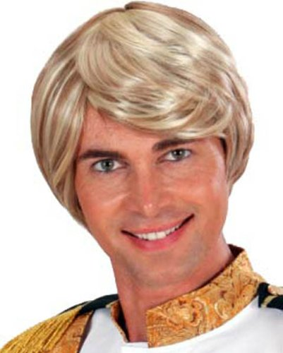 (Prince Charming In Box Wig For Fancy Dress Costumes & Outfits)