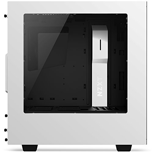 NZXT S340 Mid Tower Computer Case, White (CA-S340W-W1) by Nzxt (Image #3)