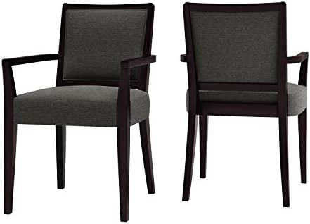 Domesis Upholstered Arm Dining Chair