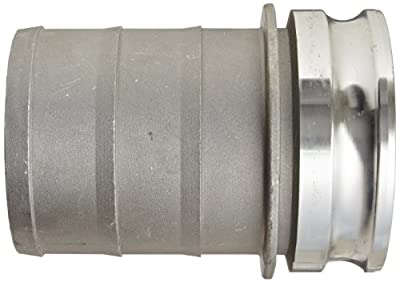 Dixon Aluminum A380 Global Type E Cam and Groove Fitting, Plug x Barbed