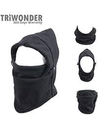 Triwonder 6 in 1 Thermal Fleece Balaclava Hood Police...