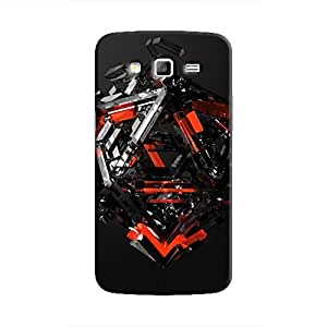 Cover It Up - Triangle Dissolution Red Galaxy Grand 2 G7106 Hard Case