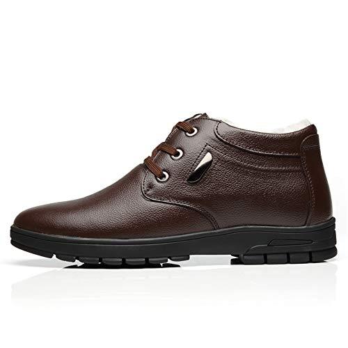 alla alla Casual Men Occasions EU di Mezza Moda Moda Moda in Color Marrone Daily Boots Dimensione Scarpe for Marrone età all Foderate 42 semplicità Bangxiu for Felpa Stivaletti xqwIEUgT