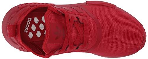 adidas Originals Men's NMD_R1 Sneaker, Scarlet/Scarlet/Scarlet, 13.5