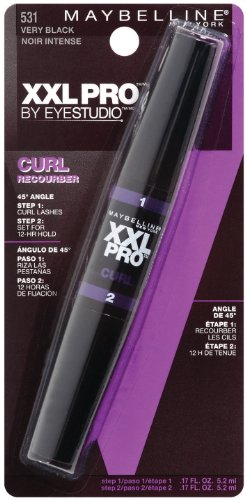 Maybelline New York XXL Curl Washable Mascara, Very Black 531, 0.34 Fluid Ounce