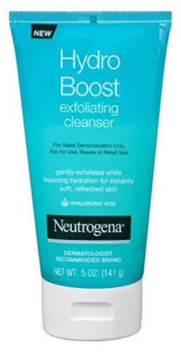 Neutrogena Hydro Boost Exfoliating Cleanser 5 Ounce (147ml) (2 Pack)