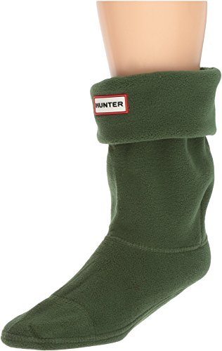 Hunter Unisex Short Boot Socks Hunter Green LG (Mens Shoe 7-9, Womens Shoe 8-10) (Short Unisex Adult)