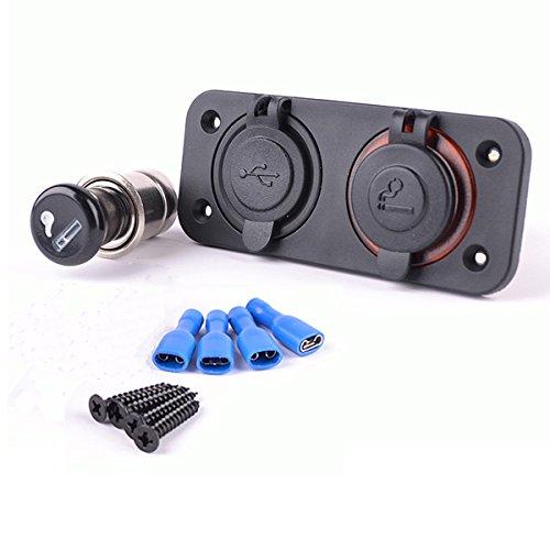 soloop 12 - 24 V Auto resistente al agua coche encendedor de ...