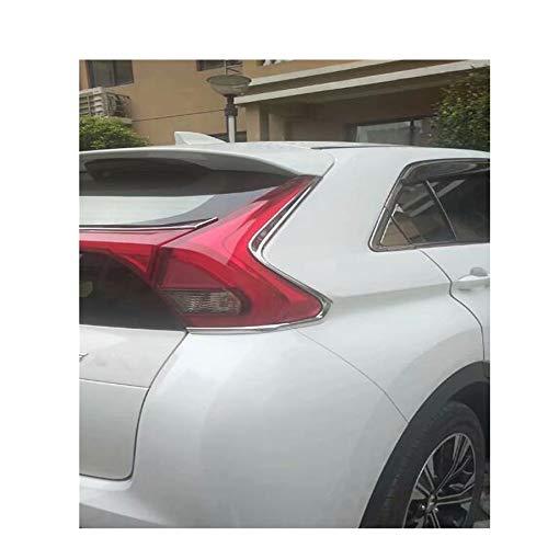 2 pezzi nuovo cromato fanale posteriore decorazione sopracciglio per Eclipse Cross 2018 2019