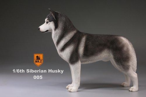 Figurine Dog Husky Siberian (Siberian husky dog porcelain figurine handmade statues (005, 14186cm))