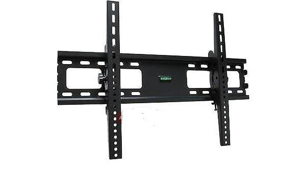 SLIM LCD LED PLASMA FLAT TV WALL MOUNT BRACKET SET 24 30 32 37 42 46 47 50 52 55