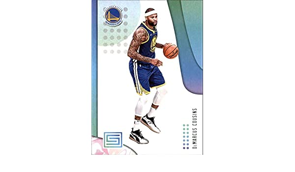 7d63e3d1da89 Amazon.com  2018-19 Panini Status  17 DeMarcus Cousins Golden State  Warriors NBA Basketball Trading Card  Collectibles   Fine Art