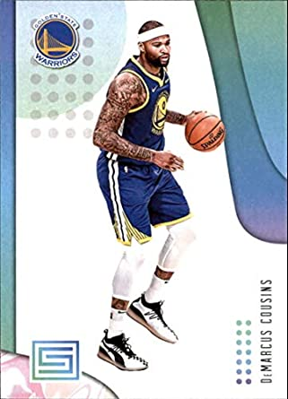 f6d73d22dcd0 2018-19 Panini Status  17 DeMarcus Cousins Golden State Warriors NBA  Basketball Trading Card
