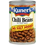 Kuner's Original Chili Beans In Chili Sauce, 15 oz