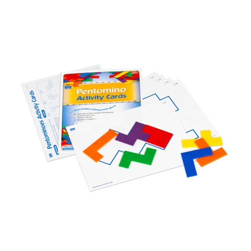 EAI Education Pentomino Activity Cards (Set Pentominoes)