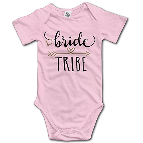 Baby Short Sleeves Triangle Romper Bodysuit Onesies Infant Toddler Bride Tribe Climbing Clothes Outfits ()