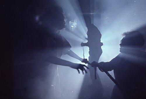 Poltergeist spooky scene original 35mm slide transparency -