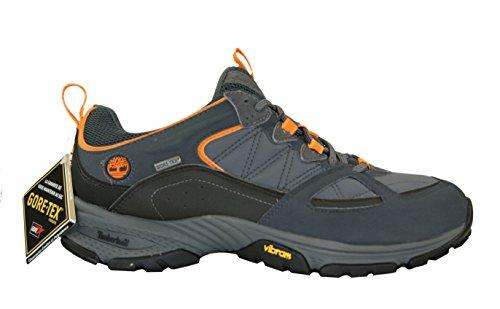 Timberland - Zapatillas de senderismo de Material Sintético para hombre Gris Grau + Schwarz + Orange