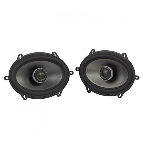Polk Audio MM1 Series 5x7 Inch 300W Coaxial Marine Boat ATV Car Audio Speakers