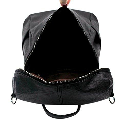 porté à pour main dos Sac au Hossty Noir femme qBntwzxg