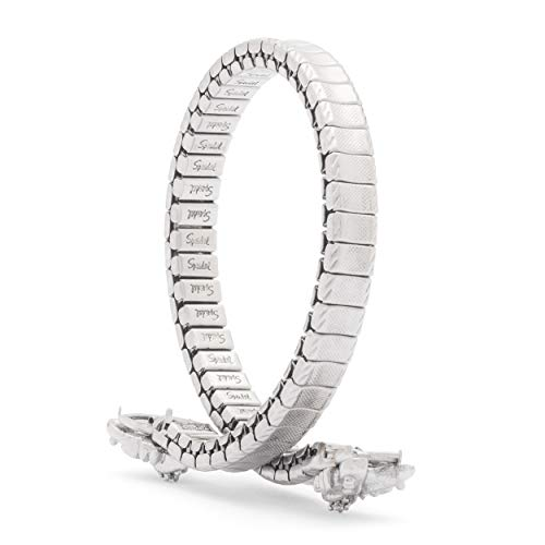 Speidel Ladies Twist-O-Flex Expansion Replacement Watch Band Silver Tone C Ring 3mm ()