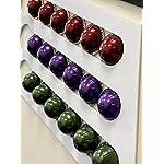 BHPSRL-Porta-Capsule-Compatibile-Nespresso-Vertuo-18-Capsule-in-plexiglass-Colore-Bianco-Lucido