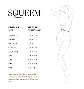 "Squeem ""Perfect Waist"" Firm Compression Waist Trainer"