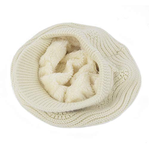 4683ace2edc292 Muryobao Women's Winter Warm Slouchy Cable Knit Beanie Skull Hat with Visor