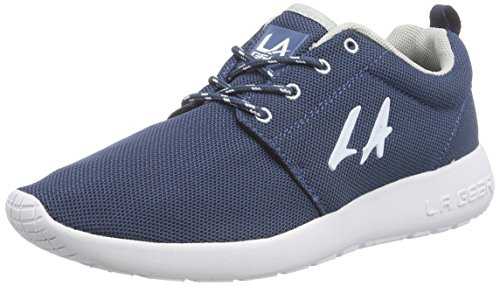 L.A. Gear Sunrise - zapatilla deportiva de material sintético mujer azul - Blau (Navy-White 04)