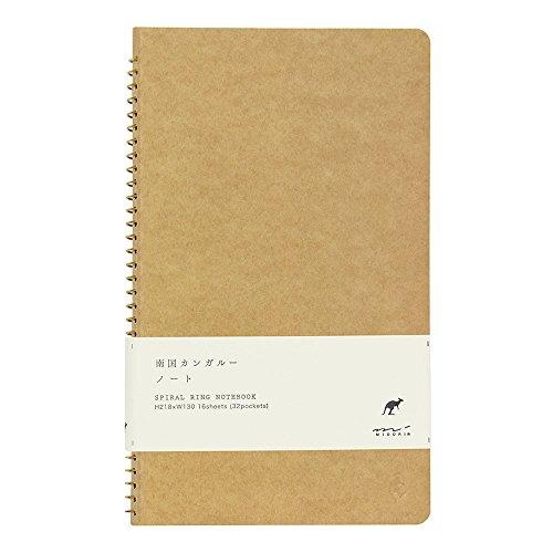 Midori Spiral Notebook - A5 Kangaroo