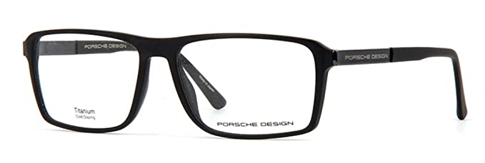 47a82d79b1e2e Image Unavailable. Image not available for. Color  Porsche Design P8259 A  Unisex Black Grey Frame Eyeglasses ...