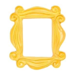 Cool TV - Marco para mirilla, réplica del marco del piso de Mónica en Friends, color amarillo