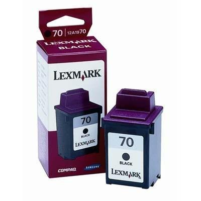 (Lexmark 70 (12A1970) Black Remanufactured Inkjet/Ink Cartridge)