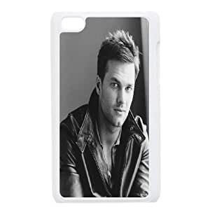 DDOUGS Tom Brady Personalized Cell Phone Case for Ipod Touch 4, Best Tom Brady Case