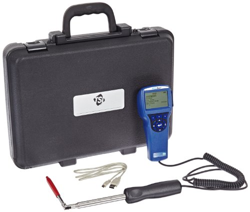 Air Velocity Probe - TSI 9545-A VelociCalc Air Velocity Meter; Articulating Probe/Auto Log